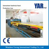 Cadena de producción discontinua del panel de emparedado del precio de fábrica