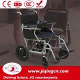 Cadre léger en alliage d'aluminium pliant Chaise roulante électrique