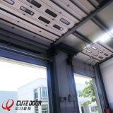 Автоматическая секционная надземная дверь гаража для холодильных установок
