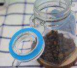 シールのふたとの記憶のための小型個人化されたガラスキャンデーの瓶