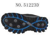 No. 51223 Hiking Shoes Stock della signora superiore di cuoio