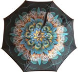 Langlebiges Gut Using c-Griff-gedreht umgekehrten Rückregenschirm