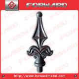 집 문은 담 방책 상단에 의하여 위조된 강철을 디자인한다