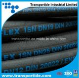 Flexibler Hochdruckhydraulischer Gummischlauch (R1 R2)