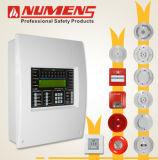 Painel de controle de alarme de incêndio analógico inteligente de 250 pontos, 2-Loop (6001-02)