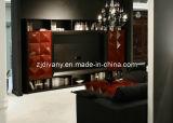 Governo rosso nero Post-Modern di legno TV (LS-522)