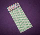 Producten van de Partij van het Stro van de Partij van het Stro van het Document van Jingli de Roze met het Vakje van pvc
