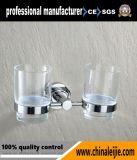 Nicht rostender Qualitäts-Badezimmer-Edelstahl-Doppelt-Trommel-Halter