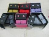 Cores da moda de gravatas de alta qualidade com caixa de oferta