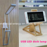 Hecho en China lámpara de mesa plegable LED