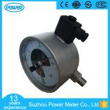 6 '' 150mm tout l'indicateur de pression électrique de contact d'acier inoxydable