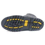 Ботинок безопасности ранта Goodyear цвета черноты неподдельной кожи