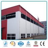 중국은 가벼운 강철 구조물 창고 헛간을 조립식으로 만들었다