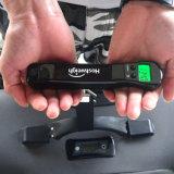 Маштаб электронного перемещения веса багажа LCD портативного вися