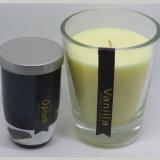 Großhandelssoyabohne-Wachs-Glasglas-Kerze für Dekoration