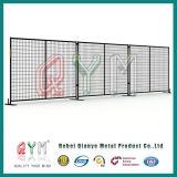 子供の運動場の一時塀か具体的で移動可能な一時塀