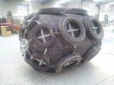 Déflecteurs pneumatiques en caoutchouc en caoutchouc renforcé de cordon synthétique