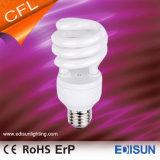 Indicatore luminoso a spirale mezzo economizzatore d'energia del T3 11W 15W 20W 25W E27 CFL delle lampade di vendita calda