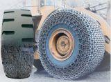 fora da corrente da proteção do pneu da estrada
