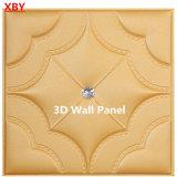 акустическая кожа PU панели стены 3D