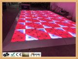 o melhor preço de grosso Dance Floor portátil de 1*1m RGB Dance Floor para o banquete de casamento