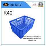 Caixa de plástico supermercado K40 para legumes e frutas