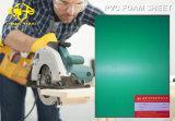 Feuille de mousse PVC vert pour la décoration intérieure 6-20mm
