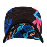 カスタムWeedのタイによって染められる綿5のパネルの帽子のキャンプの帽子