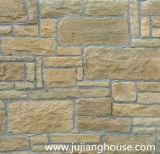 Pedra cultivada artificial para a decoração da casa