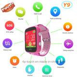Dispositivo de localización GPS a los niños observan 1,44''Pantalla a color (Y9).