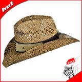 Sombrero de paja clásico del sombrero de vaquero