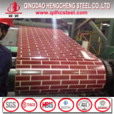 赤レンガパターンPPGIコイルか花粒状PPGI/Prepaintedの鋼鉄コイル