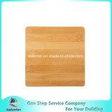 Mini placa e facas de bambu quadradas de Chesse ajustadas