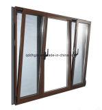 Oscilación Windows de cristal de aluminio del doble de la buena calidad