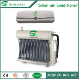 Acondicionador de ar solar híbrido T3 R22 com tubo de vácuo