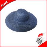 Chapéu de palha de papel flexível da palha das mulheres