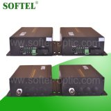 4 Le canal Ethernet fibre Media Converter