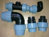 Pp Compression Fitting met Italië Design voor Water Suppy