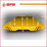 Elektrische Industrie-Materialtransport-Karre für Fabrik und Lager auf Schienen