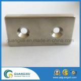 Abnehmer-spezifische Form-permanente gesinterte Neodym-Magneten mit Zn-Überzug