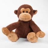 최신 판매 긴 다리 브라운 원숭이에 의하여 채워지는 장난감 동물성 견면 벨벳 장난감