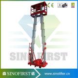 8m tot 12m de Rechte Ladder van de Legering van het Aluminium Lucht omhoog voor het Schilderen