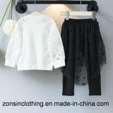 Одежды детей Fshion двухкусочные (юбка T-shirt+)