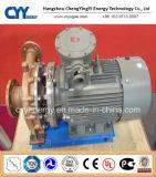 Pompe centrifuge cryogénique de l'eau d'huile de liquide réfrigérant d'azote d'oxygène liquide
