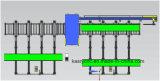 鋼鉄製造工業のためのロボット管そしてプロフィールの切断の加工ライン機械