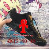 . 2017 Zapatos de baloncesto de la nueva de la llegada Zk12 de baja calidad zapatillas de deporte olímpicas Zk 12 con el amortiguador de aire del Kd Zapatos rosados negros del alto talón de la tapa