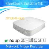 Dahua 4channel intelligente 1u 4k&H. 265 Lite Sicherheit NVR (NVR4104-4KS2)