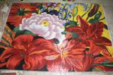 Mosaico di vetro di arte del reticolo di mosaico del fiore murale (HMP715)