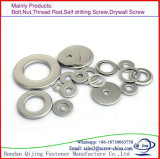 Rondelles plates d'acier inoxydable DIN 6796