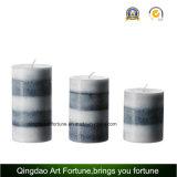 香りのホーム装飾のための香料入りのハンドメイドの柱の蝋燭